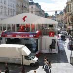 Doppelstockzelt Wien